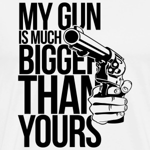 My gun is much bigger than yours Other - Men's Premium T-Shirt