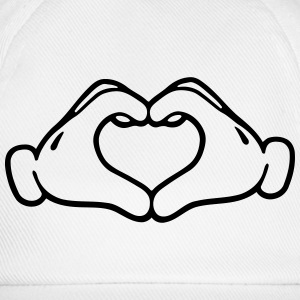 Love hand  Tee shirts - Casquette classique