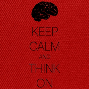 keep calm and think on T-shirts - Snapbackkeps