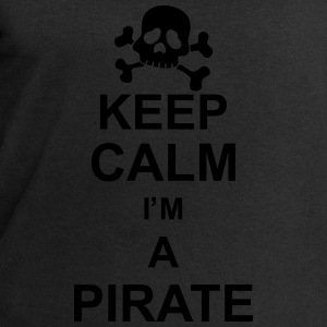 keep_calm_I'm_a_pirate_g1 Topper - Sweatshirts for menn fra Stanley & Stella