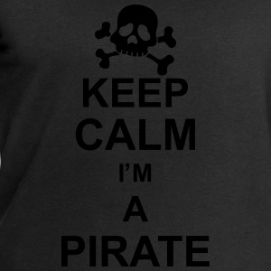 keep_calm_I'm_a_pirate_g1 Shirts - Men's Sweatshirt by Stanley & Stella