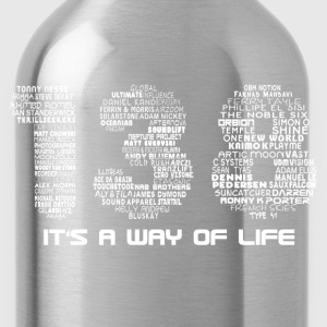 138 B.P.M. Trance Producers (White Text) - Water Bottle