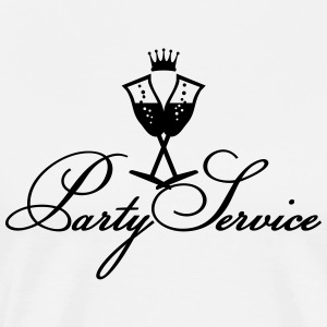 Partyservice /  Party service (1c)  Aprons - Men's Premium T-Shirt