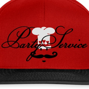 Partyservice /  Party service (1c)  Aprons - Snapback Cap