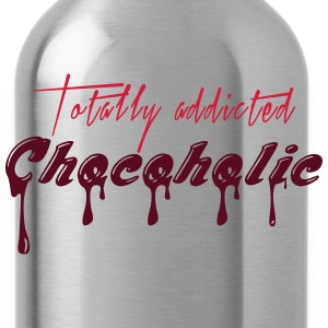 Totally addicted Chocoholic - M1 - Trinkflasche