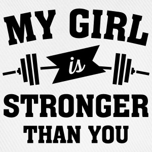 My Girls Is Stronger Than You T-shirts - Basebollkeps