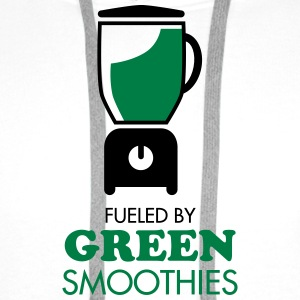 Fueled By Green Smoothies T-shirts - Mannen Premium hoodie