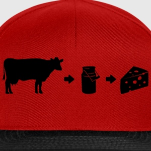 Milk Cheese Evolution Shirt Camisetas - Gorra Snapback