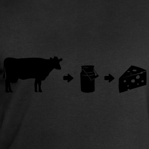 Cheese-shirt Évolution de lait Tee shirts - Sweat-shirt Homme Stanley & Stella