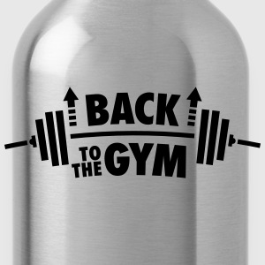 Back To The Gym T-shirts - Drinkfles