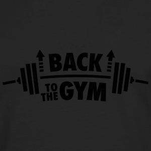 Back To The Gym T-Shirts - Männer Premium Langarmshirt