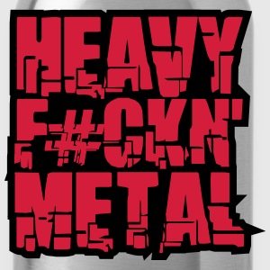 Heavy Fuckin Metal Cool Design T-Shirts - Water Bottle