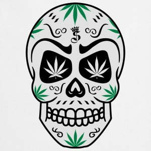 skull_ganja___3c Sweat-shirts - Tablier de cuisine