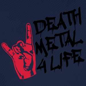 Death Metal 4 Life Design T-shirts - Basebollkeps