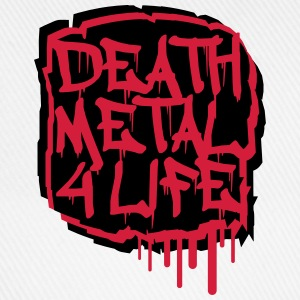 Death Metal 4 Life Graffiti T-shirts - Basebollkeps