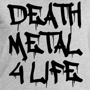 Death Metal 4 Life Tee shirts - Sweat-shirt Homme Stanley & Stella