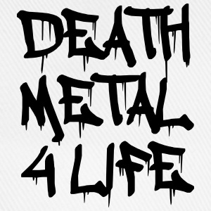 Death Metal 4 Life Tee shirts - Casquette classique