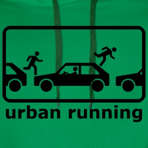 urban freerunning T-Shirts - Men's Premium Hoodie