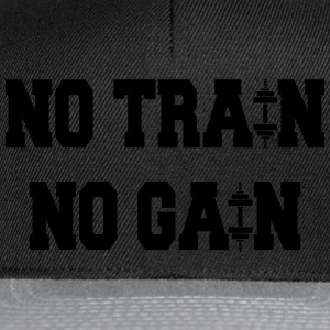 No train no gain Sudaderas - Gorra Snapback