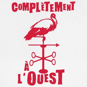 completement a ouest expression Tee shirts - Casquette classique