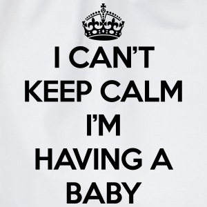 Keep Calm Having Baby T-Shirts - Drawstring Bag