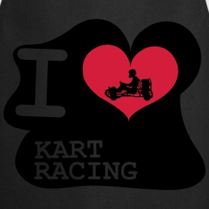 I Love Kart Racing Skjorter - Kokkeforkle