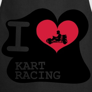 I Love Kart Racing T-shirts - Förkläde