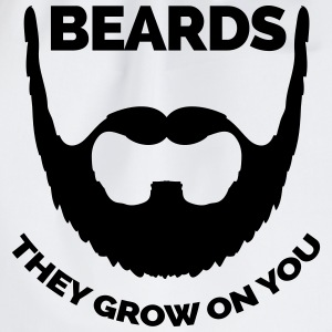 Beards Grow On You T-Shirts - Drawstring Bag