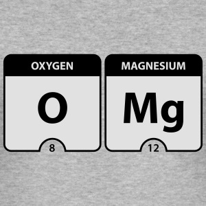 OMG Periodic Table Pullover & Hoodies - Männer Slim Fit T-Shirt