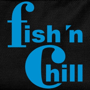 fish 'n chill (1c) T-Shirts - Kids' Backpack