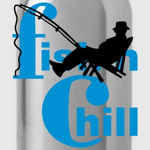 fish 'n chill (1c) T-Shirts - Trinkflasche