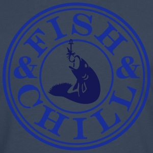 fish & chill (c, 1c) T-Shirts - Men's Premium Longsleeve Shirt