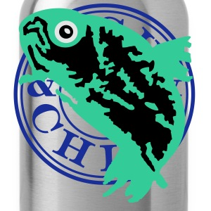 fish & chill (c, 1c) T-Shirts - Trinkflasche