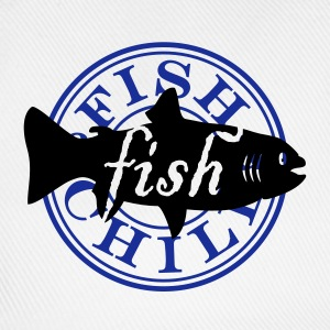 fish & chill (c, 1c) T-Shirts - Baseballkappe