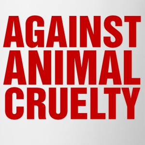 Against Animal Cruelty - Mug
