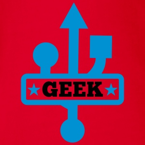 Geek USB T-Shirts - Baby Bio-Kurzarm-Body