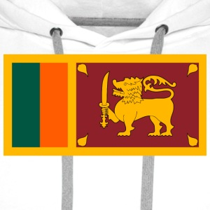 National Flag of Sri Lanka Bottles & Mugs - Men's Premium Hoodie