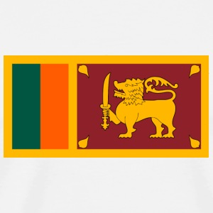 National Flag of Sri Lanka Bottles & Mugs - Men's Premium T-Shirt