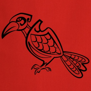 raven one color vector T-shirts - Keukenschort