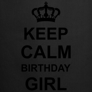 keep_calm_birthday_girl_g1 Magliette - Grembiule da cucina
