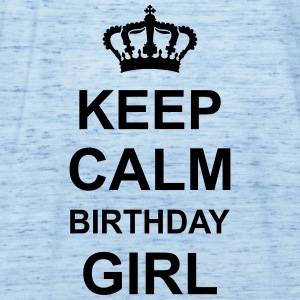 keep_calm_birthday_girl_g1 Magliette - Top da donna della marca Bella