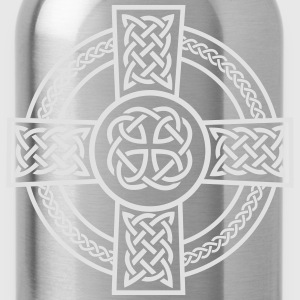 Celtic Cross T-Shirts - Trinkflasche