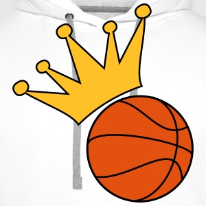 Basketball T-Shirts - Men's Premium Hoodie