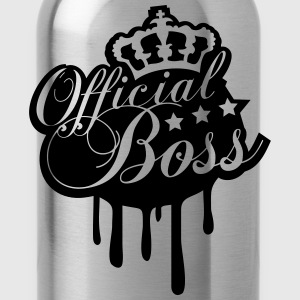 Cool Official Boss King Graffiti T-Shirts - Water Bottle