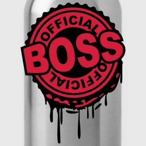 Officiell Boss stämpel graffiti T-shirts - Vattenflaska
