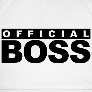 Officiel Boss Logo Design T-shirts - Baseballkasket