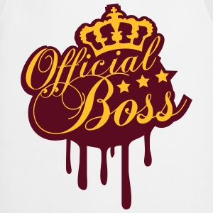 Cool officielle Boss King Graffiti T-shirts - Forklæde