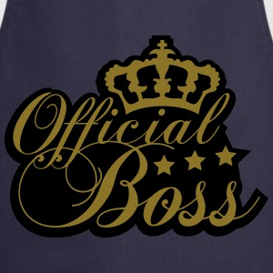 Cool officielle Boss King Design T-shirts - Forklæde