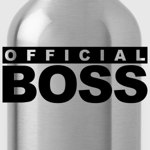 Officiell Boss Logo Design T-shirts - Vattenflaska