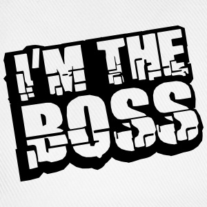 Cool I´m The Boss Logo Design T-Shirts - Baseball Cap